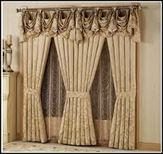 bay window curtain rods jcpenneyhome design ideas curtains