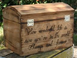 Engraved Wedding Gifts Rustic Wedding Gift Card Box Huge Personalized Wedding Card
