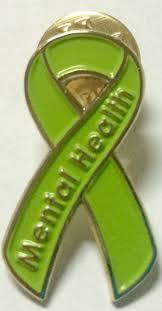 engraved ribbon mental health awareness ribbon pin awarenessdepot