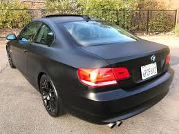 matte white bmw 328i 2008 bmw 328i matte black murdered out for sale in vista