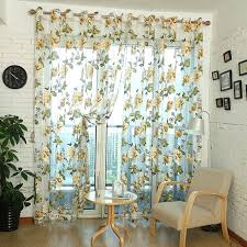 Kitchen Curtain Fabric by Aliexpress Com Buy Home Textile Flower Embroidered Luxury 3d