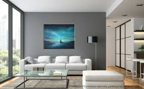 Painting Interior Crescent Sail Seascape Painting Liz W Art Gallery