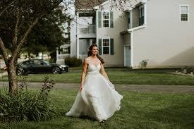 intimate backyard wedding chicago chloe josh chicago