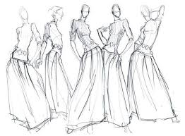 fashion sketches pencil sketch fashion illustrations u0026 croquis