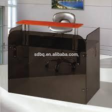 Arnold Reception Desks by Glass Top Reception Desk Glass Top Reception Desk Suppliers And