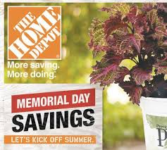 home depot memorial day sale and coupon code 2014 saving