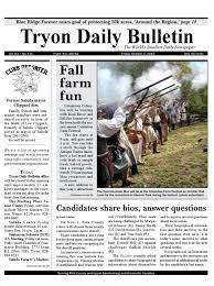 20101001complete by tryon daily bulletin issuu