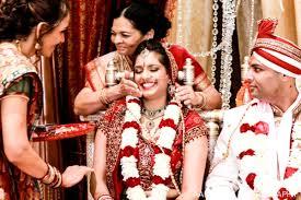 Indian Wedding Flower Garlands Gorgeous Indian Wedding Ceremony With Modern Mandap By Aaroneye