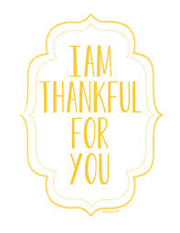 i am thankful for you free printable posters ella