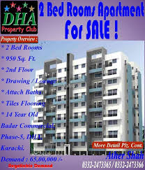 apartments 950 square feet square feet apartment for sale in dha