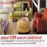 Almafi Leather Sofa Almafi Leather Sofa And Loveseat Set For 1399 00 At Macys
