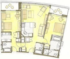 Disney Boardwalk Villas Floor Plan Bay Lake Tower 1 Bedroom Villa Memsaheb Net