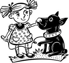 pet dog coloring free printable coloring pages