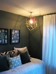Hook For Ceiling Light by Diy Brass Tubing Geometric Lamp K Sarah Designs