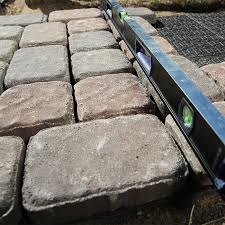 How To Install A Paver How To Design And Build A Paver Walkway