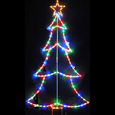 Outdoor Lighted Christmas Lawn Decorations by Led Outdoor Christmas Decorations Lighted Trees Christmas