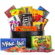 gourmet gift basket the sweet tooth candy basket gourmet gift baskets for all occasions