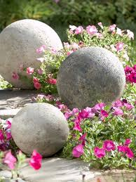 diy cement garden ornaments mosaik
