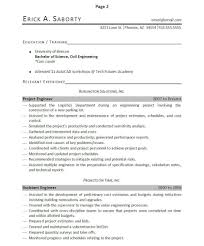 resume format for project engineer professionally written engineer resume example resumebaking of the resume in an easily understandable manner as this resume does this ensures that no important accomplishments will be missed by the reader