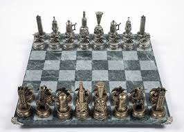 Futuristic Chess Set Everybody U0027s Game Chess In Popular Culture World Chess Hall Of Fame