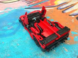 lamborghini veneno lego even a lego lamborghini goes faster in the brothers brick