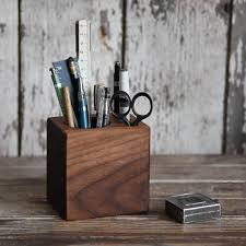 Small Walnut Desk Walnut Desk Caddy Small By Peg And Awl Desk Organizer Office