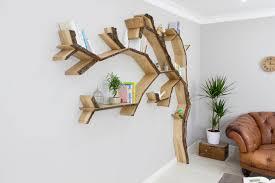 windswept oak tree bookcase shelf by bespoak interiors