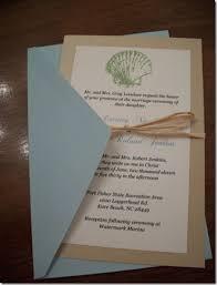 diy beach wedding invitations kit inspiration wedding decor theme