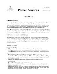 Job Resume Examples For High by How To Write A High Resume For College College Resume For