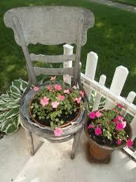 Outdoor Garden Crafts - 147 best chair planter images on pinterest chair planter chairs