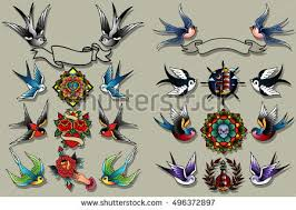 old tattoo collection vector download free vector art