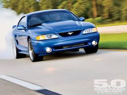Gallery For Gt Light Blue by 1994 Turbocharged Ford Mustang Gt Bright Atlantic Blur Photo