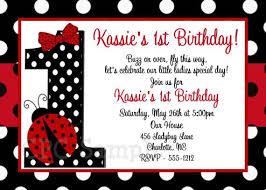 ladybug birthday invitations christmanista com