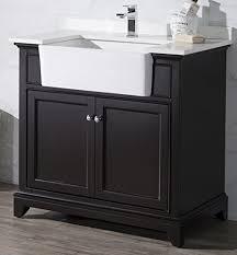 36 Bathroom Vanity With Sink by Stufurhome Ty 2004es 36 Helanah Farmhouse Apron Single Sink