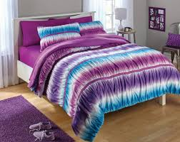 Tie Dye Bed Sets Light Purple Blue Tie Dye Ombre 2 Comforter Bedding Set
