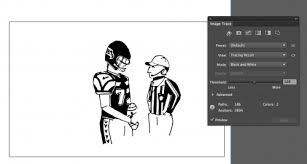 how to convert a hand drawn illustration into a digital graphic