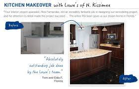 Lowes Design Kitchen Before U0026 After Kitchen Makeover Inspiration From Lowe U0027s