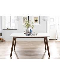 white mid century dining table great deals on long white top mid century modern dining table