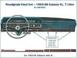 i have woodgrain vinyl for your 1965 66 dash ford muscle forums