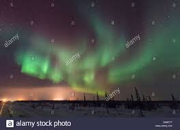 where can i see the northern lights in iceland northern lights seen from just outside churchill manitoba in winter