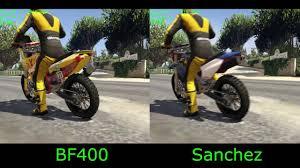 new motocross bikes gta 5 dlc new nagasaki bf400 vs sanchez fastest motocross bike