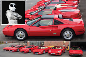 pictures of ferraris brit buys six ferraris without looking at them and sent top