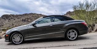 mercedes convertible 2013 mercedes benz e550 convertible review rnr automotive blog