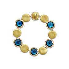 blue topaz bracelet images Jaipur london blue topaz and diamond bracelet marco bicego jpg