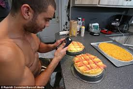 new jersey man eats one 4 000 calorie meal a day daily mail online