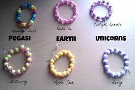 themed bracelets mlp themed bracelets the mane 6 by breyerpeep124 on deviantart