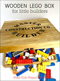 Free Patterns For Wooden Toy Boxes by Wooden Lego Box Vintage Lego Box Classic Lego Box