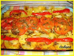 cuisiner du merlan merlan aux legumes au four la cuisine de jouhayna de a à z