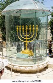 jerusalem menorah israel jerusalem city replica of the golden temple menorah