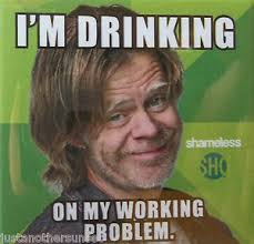 Shameless Meme - sdcc button badge pin showtime shameless im drinking frank gallagher